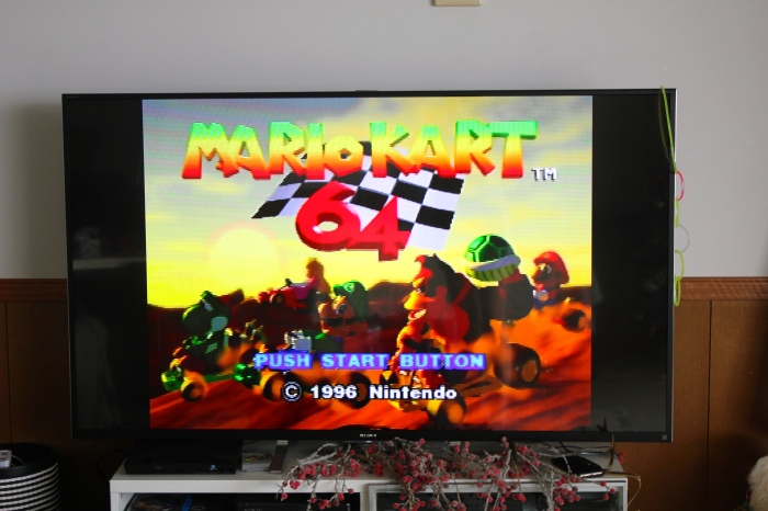 What better way to start 2015 than with Mario Kart N64 followed by mass?