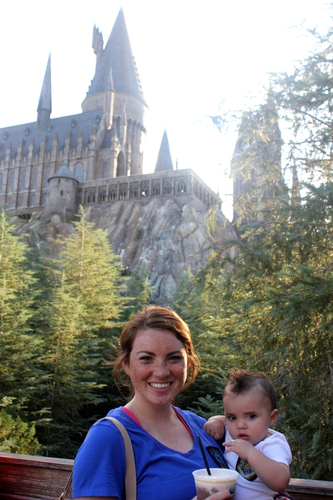 Sarah and Penelope at Hogwarts!